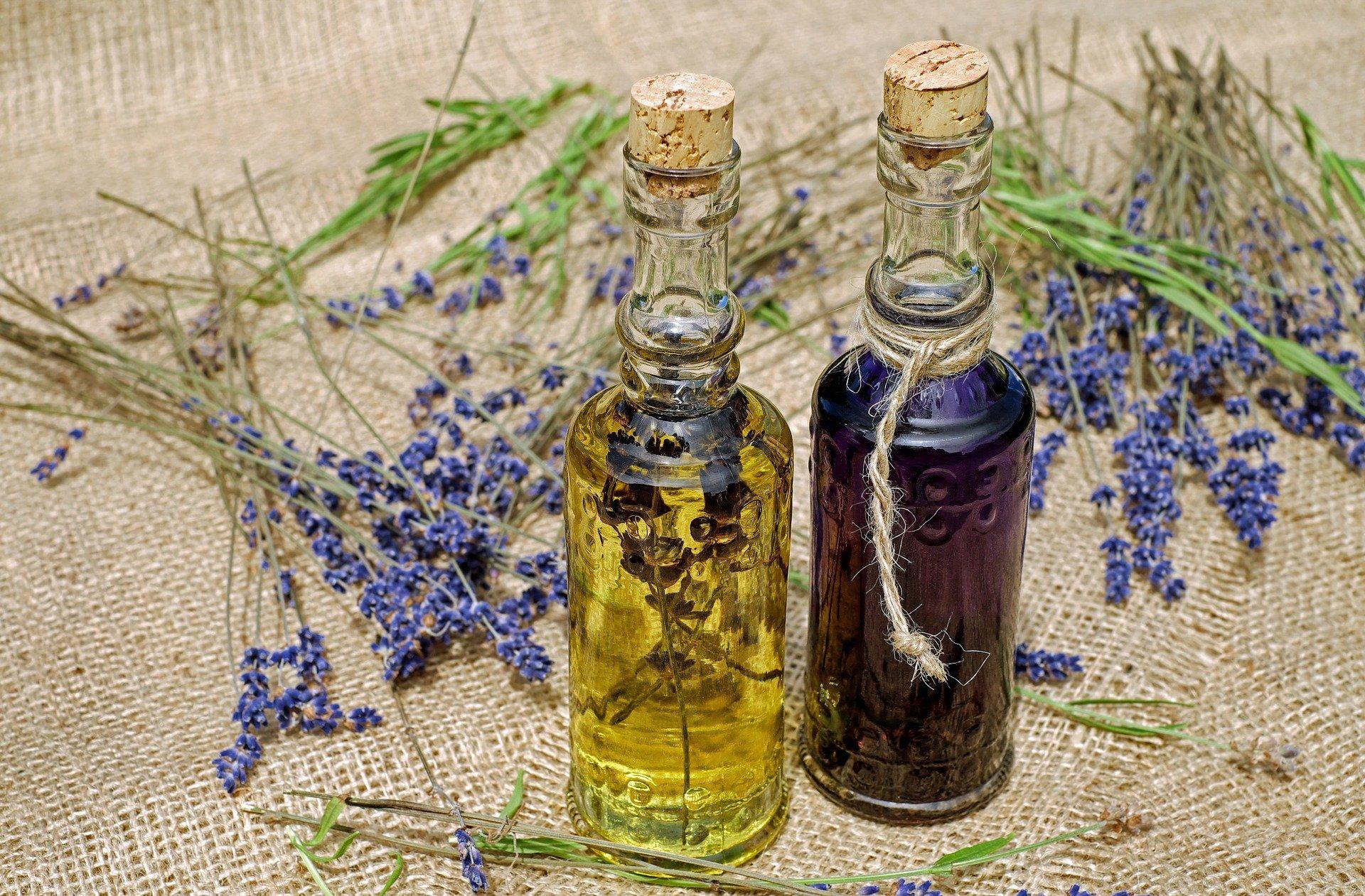Öl mit Lavendel
