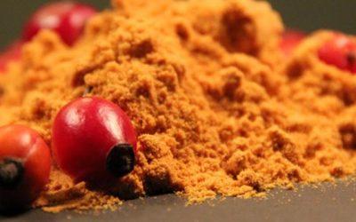 Hagebuttenpulver: regionales, natürliches Vitamin C