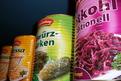 Sauerkraut in Dosen