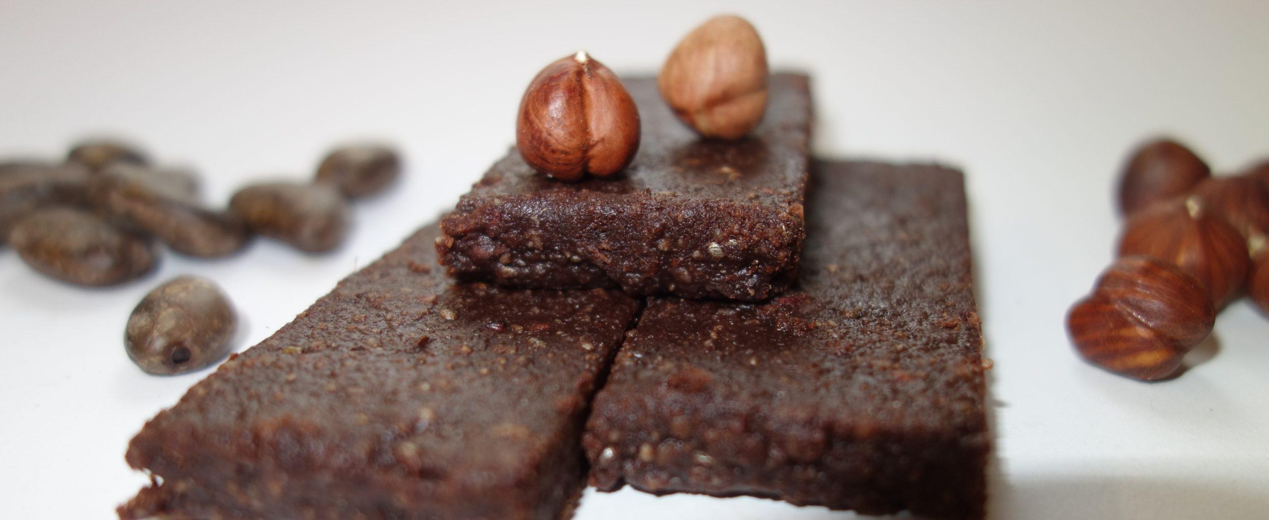 Haselnuss-Kakao-Riegel